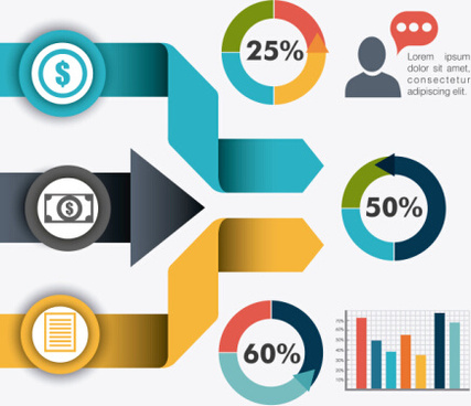 business infographic creative design95