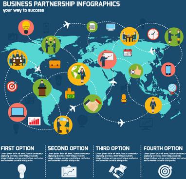 business infographic creative design99