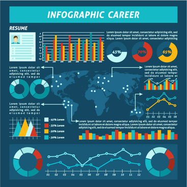business infographic creative design99