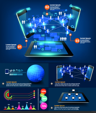 business infographic creative design