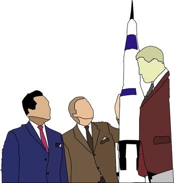 Business Men clip art
