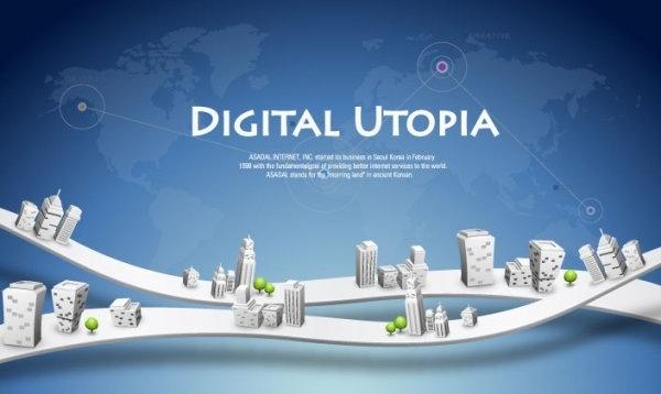 business network design vector 4 background information