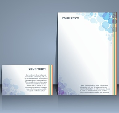 business templates with cover brochure design vector