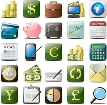 business website icons 01 vector