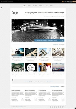 business website templatepsd layered