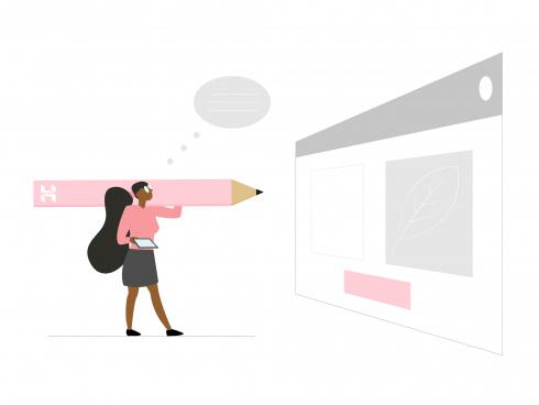 business woman blog website