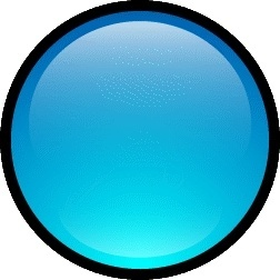 Button Blank Blue