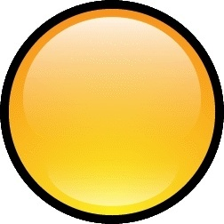 Button Blank Yellow
