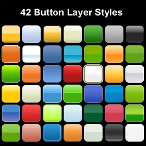 Button Design Photoshop Layer St