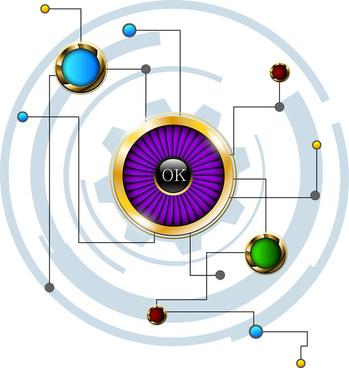 button network concept