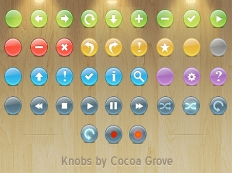 Buttons Toolbar icons icons