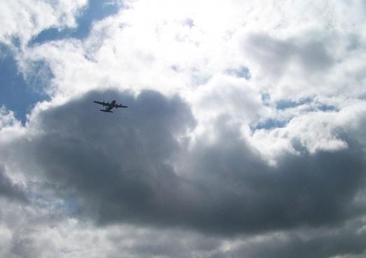 c130 flyover closer