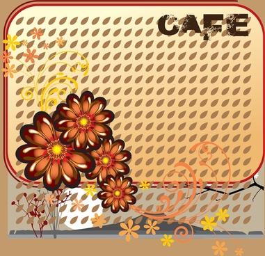 cafe design vector