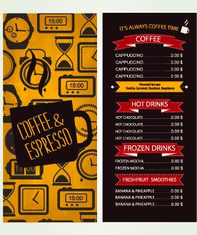 vector cafe menu coreldraw free vector download 5 796 free vector