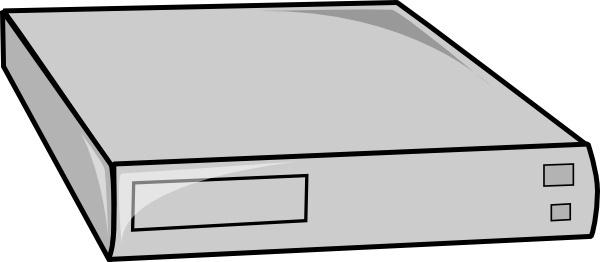 Cage Rack Mountable Server clip art
