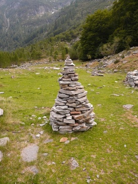 cairn stone tower stone