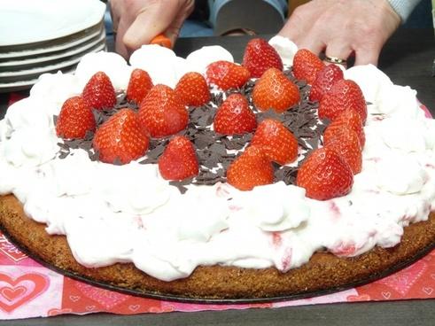 cake cutting of serve