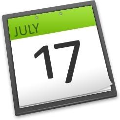 Calenda 17 july