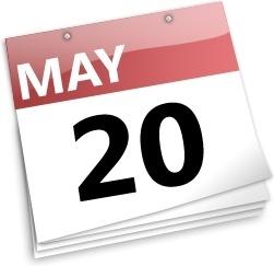 Calenda may 20