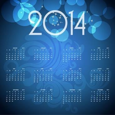 calendar14 vector