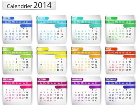 calendar14 vector huge collection2