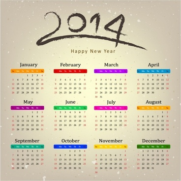 Calendar picture of 2014 calendar | free download | cdr files.