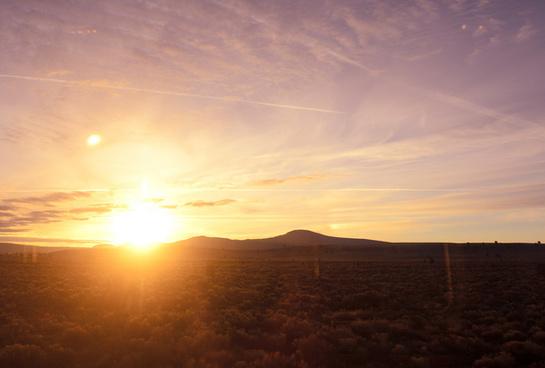 california sunrise explored