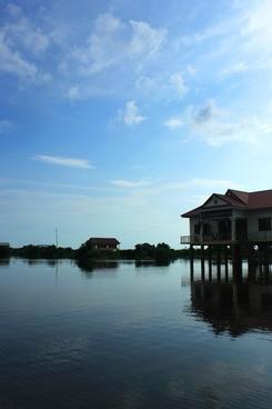 cambodia tonle sap lake asia