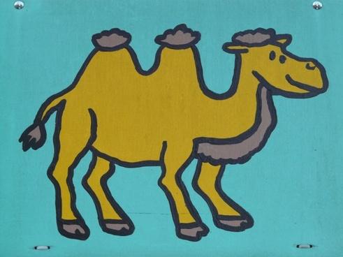 camel comic fig