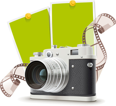 camera and film vector