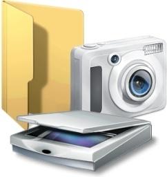 Camera and scaner folder
