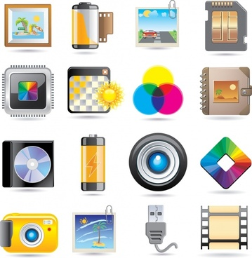 camera camera icon vector color ring