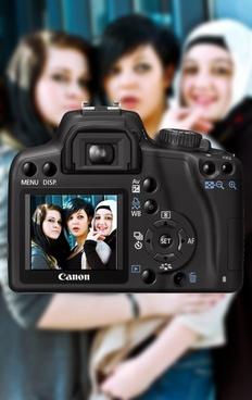 camera girl photography