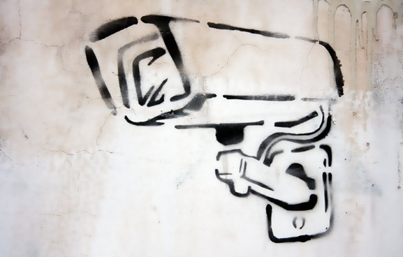 camera graffiti security