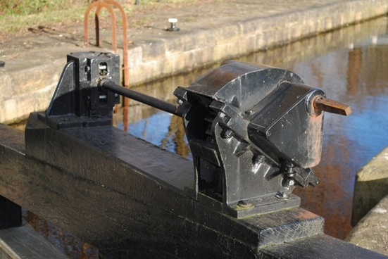 canal lock mechanism