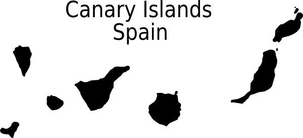 Canarias clip art