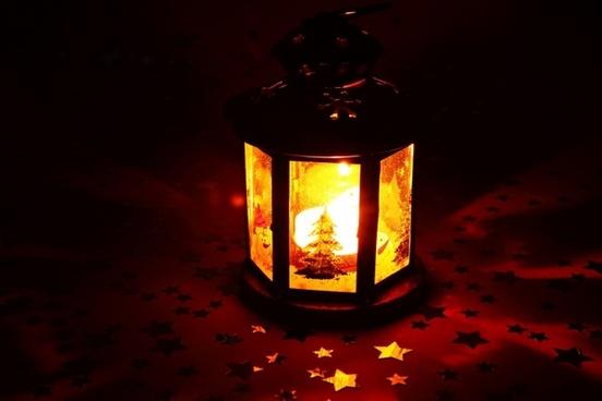 candle christmas decoration