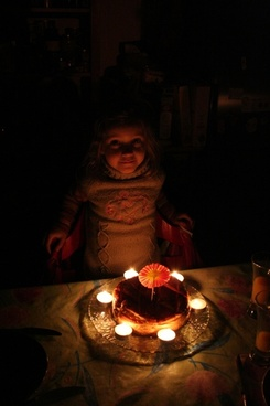 candle flame birthday