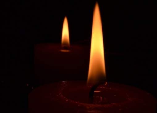 candle flame candles