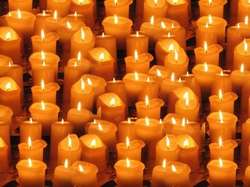 candles light lights
