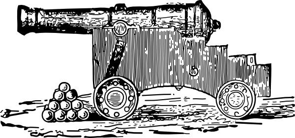Cannon clip art
