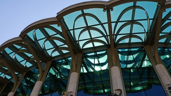 canopies national theatre budapest