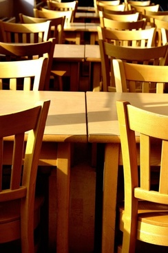 canteens background chairs tables
