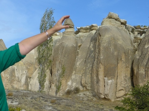 cappadocia tufa rock formations