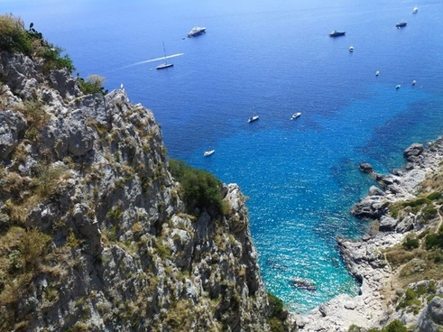 capri blue a sea of