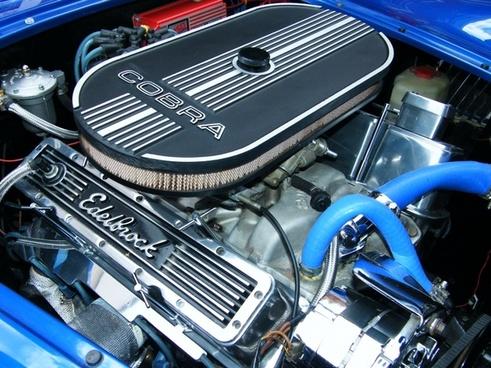 car engine vintage
