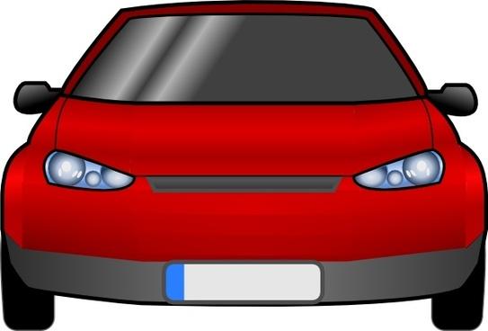 Car Front clip art
