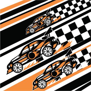 car in race