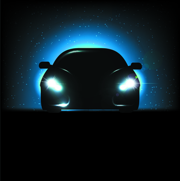 Car Lights Free Vector Download 9 729 Free Vector For Commercial
