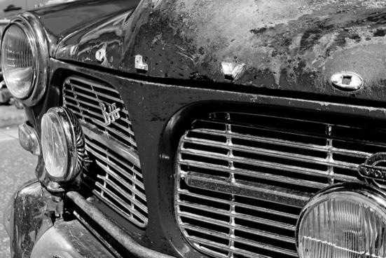 car old veteran